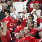 Red Wings fans had a lot to celebrate in Game 2 ... including the tradition of the playoff beard.