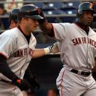 """By the time he came to San Francisco in 1997, Jeff Kent had already developed a reputation as a clubhouse recluse. Things only worsened when he encountered his equal in Barry Bonds. Despite the Giants' World Series appearance that season, a long-standing behind-the-scenes feud between the two became widely public in 2002. The powder keg erupted in a June game when Bonds and Kent became involved in a dugout shoving match that resulted in Kent saying days later, """"I want off this team.""""  He eventually got his wish, and signed with the Astros after the season."""