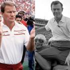 The Red River Shootout was contentious enough before 1976, but the Spy Game raised the stakes. After the 6-6 tie, Longhorns coach Royal accused the Sooners' Switzer of sending a spy disguised as a painter to closed practices at Memorial Stadium. Switzer steadfastly denied the charge. Switzer changed his tune in his 1990 autobiography, The Bootlegger's Boy. He said an assistant sent the spy without his knowledge. In 2001, Switzer told The Dallas Morning News the spying hadn't occurred in 1976, but years earlier when he was an Oklahoma assistant.