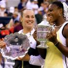 ''She just speaks her mind. I guess it has a little bit to do with not having a formal education. But you just have to think more ... use your brain a little more in the tennis world.''<br><br>-- Williams when asked about remarks made by her rival, Martina Hingis, at the 1999 U.S. Open.