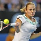 The 26-year-old was responsible for one of the Australian Open's happier storylines with her unlikely run to the quarterfinals this year. But she's won just one match since, most recently losing at the Warsaw Open in straight sets to qualifier Ioana Raluca Olaru.