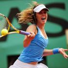 The shrieking 16-year-old qualifier from Portugal was one of the biggest early stories at the French Open thanks to back-to-back victories, including a second-round upset of No. 15 Zheng Jie.