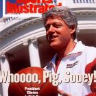 In 1994, March Madness affected the highest reaches of government when President Clinton turned Fan-in-Chief and rooted for Nolan Richardson, Corliss Williamson and the Arkansas Razorbacks. Clinton's enthusiasm was rewarded with a national championship.