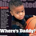 This remains one of the most memorable covers in SI history as the magazine delved into the controversial issue of athletes and their out-of-wedlock children. Khalid Minor, whose father, Greg, was a member of the Celtics, holds a basketball in this haunting cover photo.