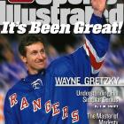 Wayne Gretzky remains the greatest player in NHL history, and this cover shot from his final game at Madison Square Garden serves as a fond farewell to The Great One.