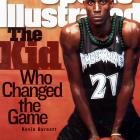 When he was selected fifth overall by the Timberwolves in the 1995 NBA draft, Kevin Garnett became the first player in 20 years to make the jump from high school to the NBA. Garnett has since been named to 12 All-Star games, earned an MVP award and won an NBA Championship.