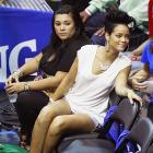 They supposedly requested to sit together at Game 4 in Orlando, but Rihanna and Chris Brown ended up in different sections.