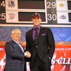 The big news from yesterday probably overshadowed the news about the #1 NBA draft pick...
