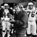 Wilson was a Hall of Fame safety for the St. Louis Cardinals, earning All-Pro honors eight times between 1960-72. After retiring, he worked his way up the organizational ladder and served as vice-president/GM from 1988 to `93, but the team never achieved a winning record during that span.