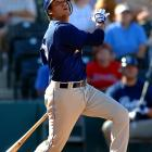 <bold>Shortstop, Mission Bay High </bold> San Diego's selection of Bush was strictly based on signability, and the Padres have paid for their frugality. Jeff Niemann, Stephen Drew and Jered Weaver were all more hyped, but the Padres' didn't want to pay a hefty bonus, so they decided to go with a local high school shortstop. Bush was a complete flop. He couldn't hit a lick, so the Padres converted him to a pitcher, but he blew out his arm. And after multiple run-ins with the law, Bush was sent to Toronto for either a player to be named later or cash considerations. Toronto eventually released Bush for violating a zero tolerance behavioral policy. He attempted to restart his career as a pitcher in the Rays system but is now out of professional baseball.