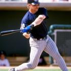 <bold>Third baseman, Cal State Fullerton </bold> Nevin won the Golden Spikes Award in 1992, leading Cal State Fullerton to a runner-up finish in the College World Series. He was taken first overall in the 1992 draft, five picks before Derek Jeter. Over a 12-year career, Nevin played for seven teams (Astros, Tigers, Angels, Padres, Rangers, Cubs and Twins), hitting .270 with 208 homers. He was an All-Star in 2001, setting career highs in batting average (.306), home runs (41) and RBIs (126).