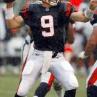 Palmer didn't play a single snap as a rookie, instead watching and learning from starter Jon Kitna. Palmer took over in 2004 and went 6-7. He broke out in 2005, going 11-5 and leading the Bengals to the playoffs.