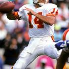 Testaverde started four games as a rookie, winning exactly zero. He started every game but two for the Bucs over the next five seasons but never achieved a winning record.