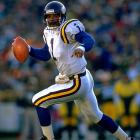 Moon arrived in Minnesota in 1994 after a storied career with Houston. He started for three seasons, finishing in the top three in passing attempts in 1994 and 1995. He was 21-18 as a starter before moving on to Seattle in 1997.