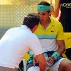 <i>Our weekly Friday look at newsmakers in the tennis world.</i><br><br>The top-seeded Nadal withdrew from Wimbledon because of tendinitis in his knees. ''I'm just not 100 percent,'' the reigning champion said. ''I'm better than I was a couple of weeks ago, but I just don't feel ready.''