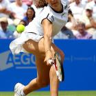 It's been some week for the 26-year-old Frenchwoman at the Aegon International in Eastbourne, England. She knocked off top-seeded Elena Dementieva, defending champion Agnieszka Radwanska and Marion Bartoli, and was to face Caroline Wozniacki in the final.