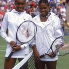To earn a chance at her first Grand Slam title, it was only fitting that 20-year-old Venus' semifinal match aligned her against younger sister Serena, who had won her first major at the U.S. Open the year before. Venus ousted Serena in straight sets in a powerful display of tennis. Venus then defeated defending champion Lindsay Davenport in the finals to become the first black women's champion at Wimbledon since Althea Gibson.