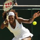 The younger Williams has been all business at the All England Club.