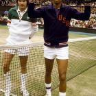 """I don't remember my first brush with Wimbledon, but my mom does. I was 3 years old in the summer of 1975 when Arthur Ashe defeated Jimmy Connors in the men's final, a moment that she celebrated by picking me up, holding me in front of the television and telling me, """"He looks like you! He looks like you!"""" This was my mom's way of telling me that anything in life was possible -- that I, too, could grow up and do anything I wanted. She was right. I wonder what it would be like to sit at Centre Court and see the grass and watch Federer, Nadal and the Williams sisters. I'm sure I would think about Arthur Ashe. I'm sure my mom would, too."""