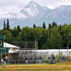 Not sure where, but in places like Billings, Mont., and Casper, Wyo., with the sun setting over the left-field fence, with purple mountains majesty above thy fruited plain. Preferably with a local microbrew in my right hand.
