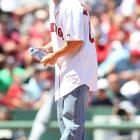 Inspired by Tim Wakefield's All-Star bid, Mark Wahlberg takes the hill.