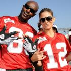Together, the pairing of Menounos and Rice has three Super Bowl rings.