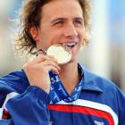 Well, at least we know what he did with his last gold medal.