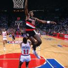 """Olympic gold medalist and 10-time all-star Clyde Drexler had an impressive vertical leap that could glide him right to the basket.  It was that vertical leap that earned Drexler the nickname """"The Glide."""""""