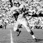 Often overlooked in the discussion of all-time greatest, Fears put up astounding numbers and was considered fearless across the middle. Once had 18 receptions in a game and caught the game-winning 73-yard TD pass to win the 1951 NFL title. Imagine had his college career not been delayed three years because of World War II.