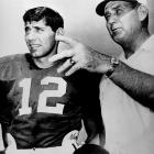 For as wealthy and famous as college coaches are today, Bryant (pictured here with Joe Namath before the Orange Bowl, in 1964) remains the stndard-bearer of the profession. The Sporting News recently named him the third greatest coach of all-time behind John Wooden and Vince Lombardi.