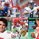 The USFL featured free-wheeling offense and plenty of future NFL stars, including (from clockwise left) Reggie White, Steve Young, Jim Kelly and Herschel Walker. It was also home to Doug Flutie (bottom left).