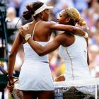 With a 7-6 (4), 6-3 victory, Serena captured her first Wimbledon title, won her second Grand Slam tournament in a row and supplanted Venus as the world's top-ranked player.