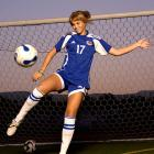 """<i>Achievements:</i> In 2007 she was the youngest player on the national U-17 team.  As the youngest player this season on her club team, the Santa Clarita United Blazers, Courtney was the leading scorer with 28 goals.  In '07 she netted the game-winner for the Blazers in the final of the Super Y National Championships and earned the tournament's MVP award.<br><br><i>Next step:</i> In March, Courtney committed to UCLA; she'll start in 2011.  """"I wanted to stay in Southern California and go to a Pac-10 school,"""" she says.  Next year she'll represent the U.S. at the U-17 World Cup in Trinidad and Tobago."""