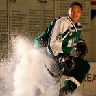 <i>Achievements:</i> The son of former NBA power forward Popeye Jones, Seth scored 33 points in 31 games last season for the Dallas Stars Bantam Major team.  The Everett Silvertips took him 11th in the WHL's Bantam draft in April, though he most likely would have gone higher had he ruled out playing NCAA hockey.  He was among the youngest invitees to the IIHF Development Camp in Finland this month.<br><br><i>Next step:</i> This season he'll join the U-18 Dallas Stars junior team.  Because of his October birthday he can't be drafted by the NHL until 2013.