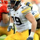 The 6-foot-6, 312-pounder has drawn comparisons to former Hawkeye and Outland Trophy winner Robert Gallery, and for good reason. A quick learner who can move around the line, Bulaga's run and pass blocking abilities make him a possible top 10 draft pick.