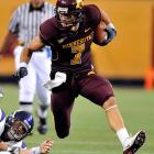 Decker has excelled since Minnesota switched to a spread offense. An outstanding overall athlete (he's twice been selected in the MLB draft), Decker can stretch the field and outmatch defenders.
