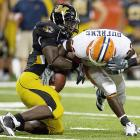 Already one of the nation's top linebackers and hardest hitters, Weatherspoon added 12 pounds this offseason to reach 250. But Weatherspoon, who led the Big 12 in tackles in 2008 (11.07 per game), is confident the extra bulk won't slow him. Good thing; with Mizzou breaking in a new quarterback and D-line, he'll need to be more of a factor than ever.