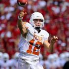 In 2008, McCoy wowed with his accuracy (78 percent completions), prolific running (576 yards and 10 TDs) and ability to avoid mistakes (32 passing TDs to just seven INTs). He came up short of the Heisman, but will establish himself as a Longhorn legend with a similarly productive 2009 campaign.