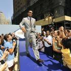 Every time Allan Houston walks outside in New York, it's kind of a big deal.