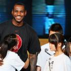 LeBron is also huge in Asia.