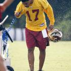 This will be Campbell's second season as the Redskins' starting quarterback.  He has a 62.9 completion percentage, 35 touchdowns and 23 interceptions in 36 career starts.
