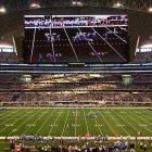 """So Cowboys owner Jerry Jones spends $1.15 billion on a new stadium with the world's largest HD television screen, but somehow forgets to make sure it isn't hanging too low over the field. Well, it is, as Titans punter A.J. Trapasso proved when he booted a ball that hit the bottom of the JumboTron during the first game at the stadium. More embarrassing than the structural gaffe was Jones' blaming Trapasso for punting the ball """"straight up."""" Yes, Jerry, that's where punts go in football, """"straight up."""""""