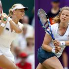 Clijsters, a former world No. 1 in the midst of a comeback, will play an exhibition Saturday against fourth-ranked Elena Dementieva in the most unusual of locales: on a specially made court in the large water fountains at the Kings Island theme park outside Cincinnati. Clijsters then will play next week's tournament in the area, her first WTA event since 2007.