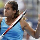 Mauresmo broke serve five times in her 6-3, 6-4 victory against Tatjana Malek.