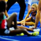 Shalane Flanagan of the U.S. finished 14th in the 10,000, a race won by 19-year-old Linet Masai of Kenya, who ended a decade-long domination by Ethiopian runners.