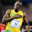 Bolt has set the 100 world record three times.