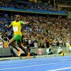 """""""I was running my heart out,"""" Bolt said. """"I got my start right and that was the key. And when I got the start I knew I was fine."""""""