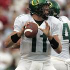 """Now let's try """"Oregon"""" on the shoulder pads."""