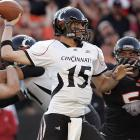 The Bearcats held Jacquizz Rogers, the Pac-10s offensive player of the year in 2008, to 73 yards and just one touchdown while snapping the Beavers' streak of 26 straight nonconference victories at Reser Stadium, dating to November 1996. Cincy quarterback Tony Pike threw for 332 yards and two touchdowns. Next up: Fresno State.
