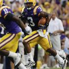 With SEC showdowns with Mississippi State, Georgia and No. 1 Florida coming the next three weeks, LSU tuned up by getting two interceptions from Chad Jones and two touchdown receptions by Brandon LaFell. Jones was a relief pitcher on LSU's 2009 national champion baseball team.